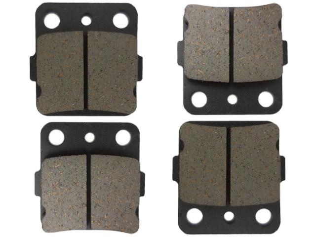Semi-Metallic Front Brake Pads 2003-2013 Kawasaki Prairie 360 2x4 /& 4x4 KVF360